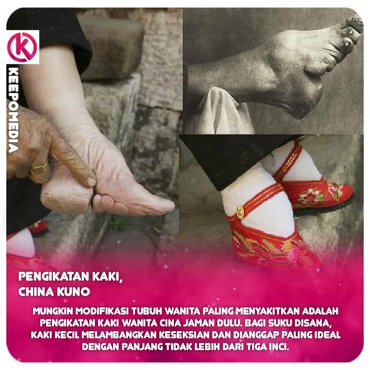 Standar Kecantikan Ekstrem Dari Berbagai Negara, Salah Satunya Dari Indonesia