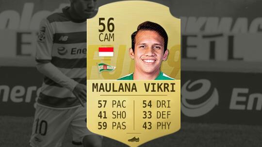 Egy Maulana Vikri Masuk FIFA 20, Jadi Pemain Potesial