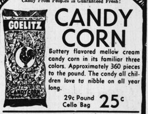 Candy Corn, Permen Favorit Saat Perayaan Halloween