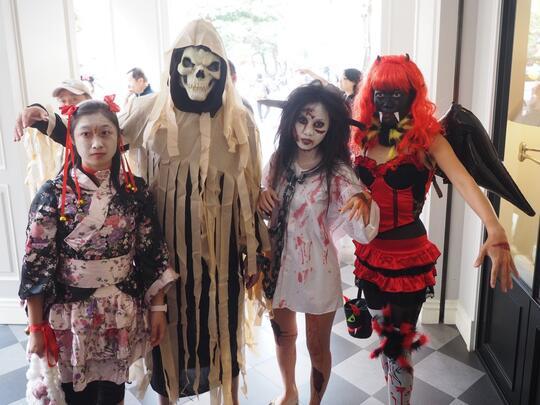 Serunya Perayaan Halloween di Taiwan; Mulai dari Pesta Labu, Sampai Rumah Hantu!
