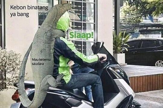 Momen Lucu Penumpang, Dapat Ojol Motor Gede! Benarkah yang Nomer 2 Sultan Menyamar?