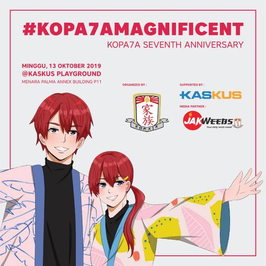 Anniversary 7th KOPAJA (Komunitas Pecinta Anime Jakarta)
