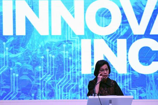 Sri Mulyani sebut profesi keuangan bakal hilang karena teknologi