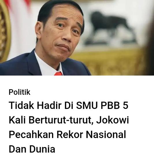 Jokowi Terbitkan Perpres Berbahasa Indonesia di Forum Dunia