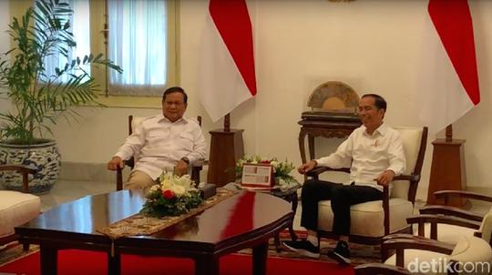 Prabowo Siap Bantu Jokowi Bikin Ekonomi RI Tumbuh Dobel Digit
