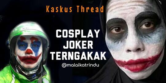 demam joker cosplay joker paling lucu yang bakal bikin gansis