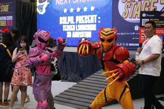 Indonesia Comic Con 2019, Reunian Dengan Ranger Merah Yuk!