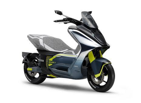 Yamaha E01 Motor Bertenaga Listrik Calon Pengganti Yamaha Aerox
