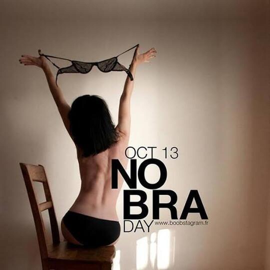 No Bra Day, Peringatan Kanker Payudara