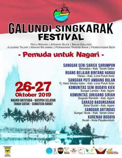 Galundi Singkarak Festival, Perhelatan Besar di Batu Taba, Nagari Mungil nan Eksotis