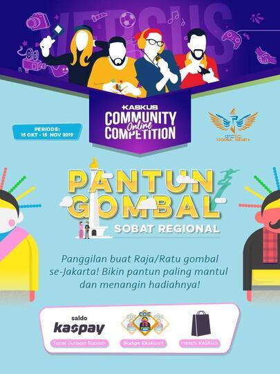[COC] PANTUN GOMBAL REGIONAL DKI JAKARTA