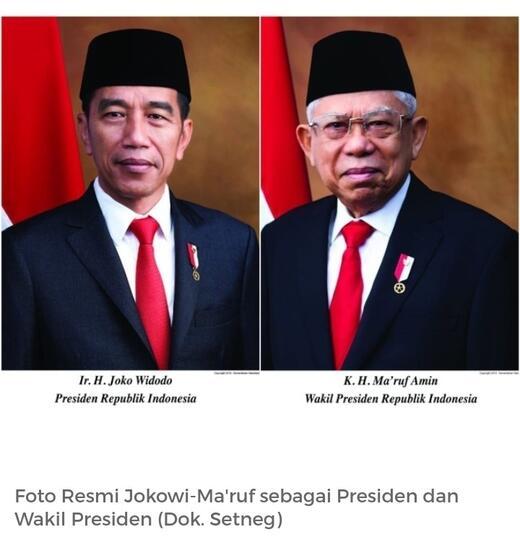 Selamat Atas Pelantikan Presiden Dan Wakil Presiden Periode 2019 2024 Kaskus