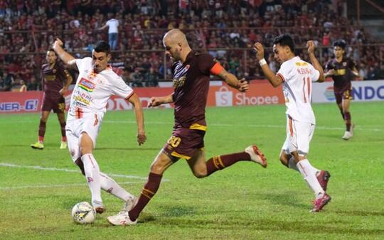 Gol Tunggal Marko Simic Bawa Persija Keluar Zona Degradasi