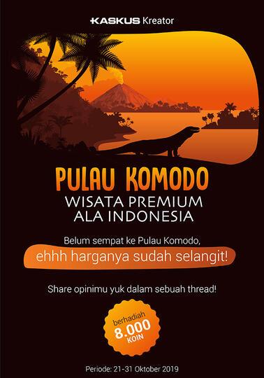 Pulau Komodo Dijadikan Wisata Eksklusif, Harganya? Fantastis!