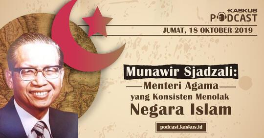 Menteri Agama yang Konsisten Menolak Negara Islam
