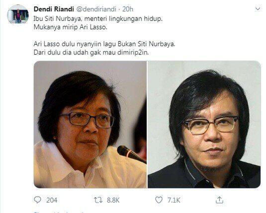 Cumi (Cuma Mirip) Ari Lasso VS Menteri LH Siti Nurbaya