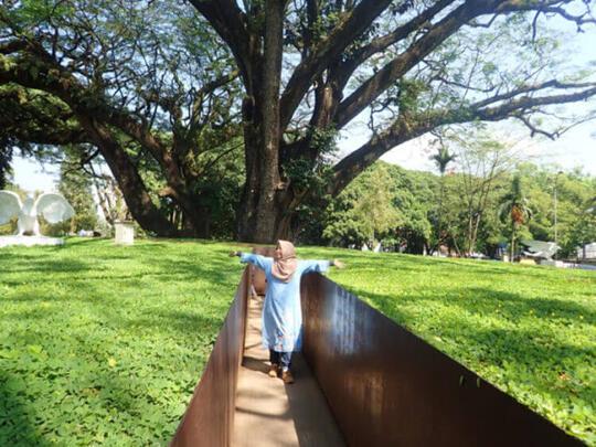 Taman Balai Kota Bandung, Destinasi yang Murah Meriah