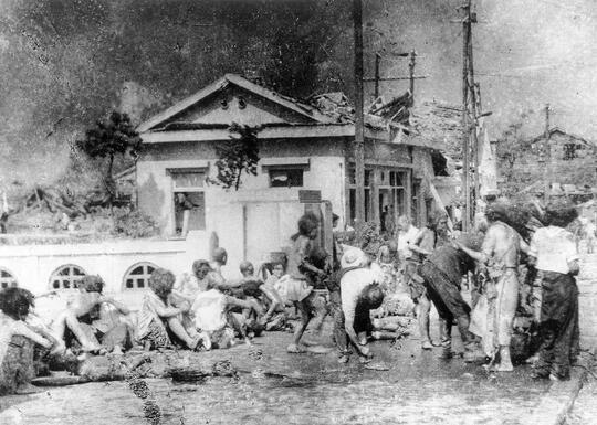 Foto-Foto Paling Langka Pemandangan Hiroshima Sebelum dan Sesudah Peristiwa Bom Atom