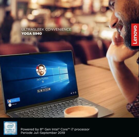 Berkat Teknolog AI, Lenovo YOGA S940 Bisa Login Hanya dengan Scan Wajah
