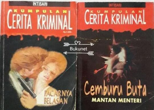 Cerita Dektetif, Kriminal dan Spionase Sepanjang Usiaku. Mana Favoritmu?