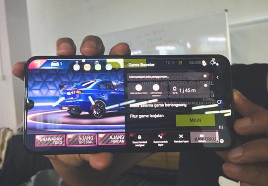 Gokil, Samsung Galaxy A50s Punya Super Steady Camera, NFC, dan AI Game booster!