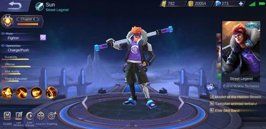 Fakta Sun: Hero Fighter Terkuat di Game eSports Mobile Legends