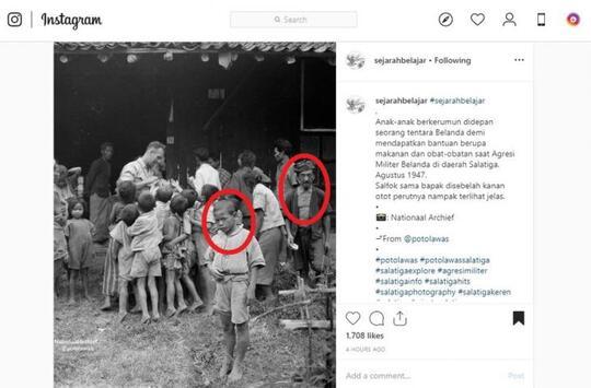 Hal Kecil Pada Foto Kuno 'Penampakan' Tentara Belanda Ini Mencuri Perhatian Netizen