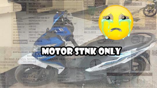 Pahami Kerugiannya, Inilah Resiko Membeli Motor STNK Only