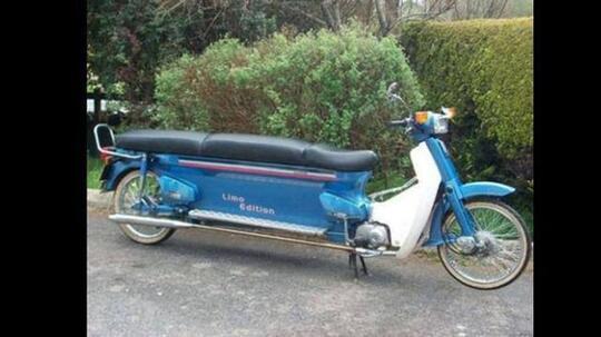 10 Modifikasi Sepeda Motor Karya Orang Terlalu Kreatif Ini Nyeleneh Banget