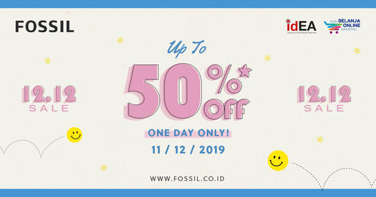 Diskon Harbolnas 2019 Fossil Official Store Up To 50 Kaskus
