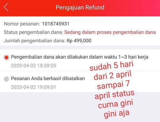 Refund Dana Yg Sangat Tidak Jelas Oleh Jd Id Kaskus