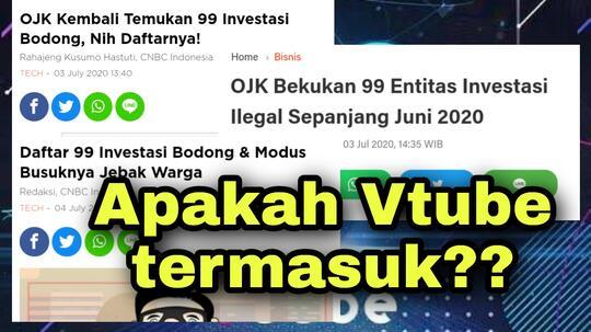 99 Investasi Bodong Dan Vtube Termasuk Investasi Bodong Oleh Ojk Kaskus