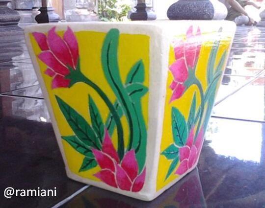 Membuat Keramik Vas Bunga Menggunakan Alat Sederhana Tanpa Mesin Dan Pembakaran Kaskus