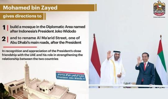 Masjid Joko Widodo Di Uni Emirat Arab