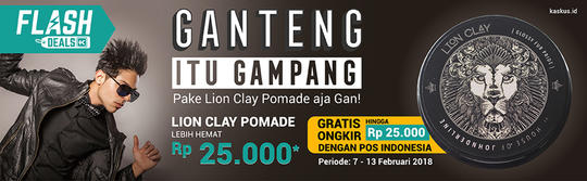 Pomade Lion Clay