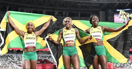 cerita-menarik-usai-sprinter-jamaika-sapu-bersih-medali-di-olimpiade-tokyo-2020