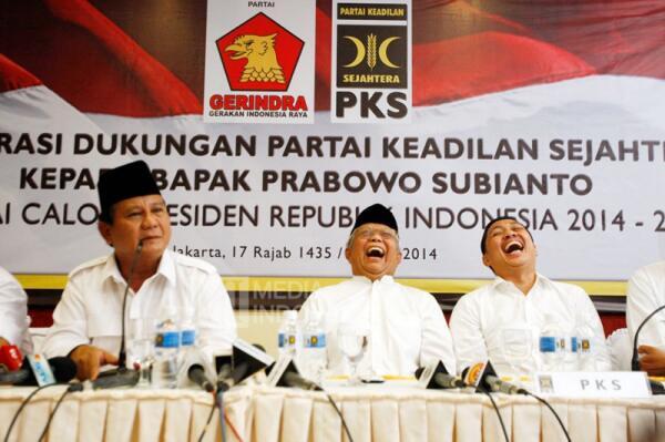 Jokowi vs Prabowo di 5 Survei Terakhir 9 April