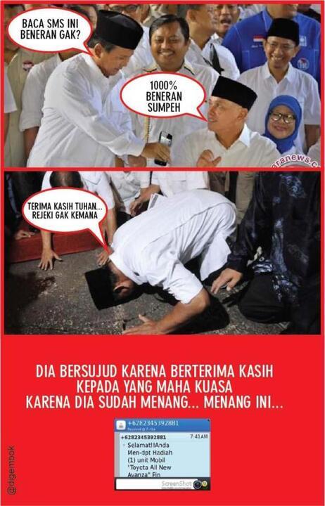 Prabowo: Kita di Ambang Kemenangan, Survei Kita Benar & Bukan Abal-Abal!
