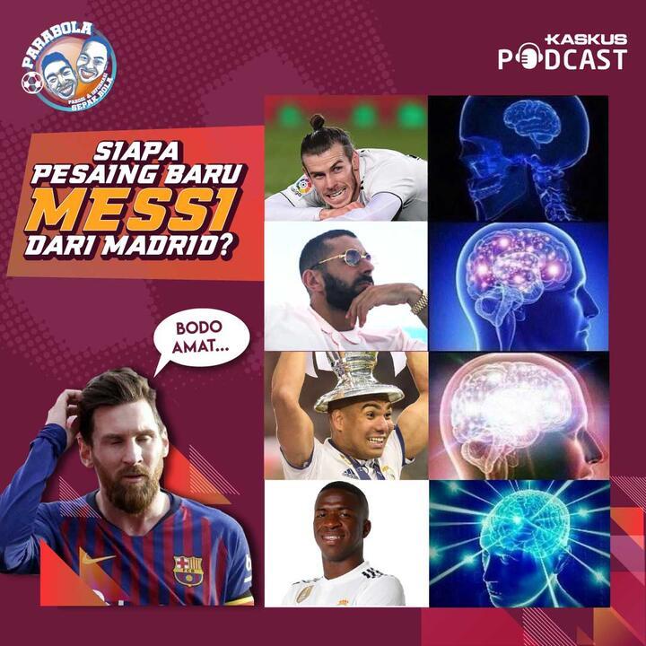 Siapa pesaing Messi di Madrid?