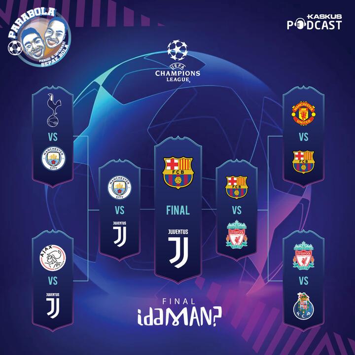 Tebak-tebakan Final Idaman Liga Champions