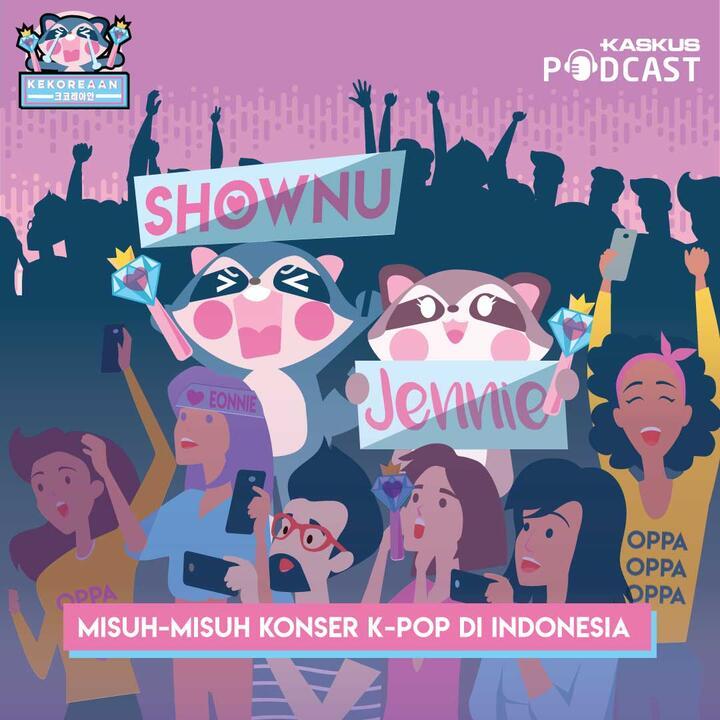 Misuh-misuh Konser K-Pop di Indonesia