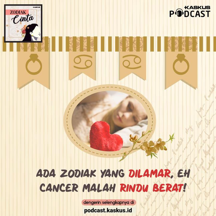 Ada zodiak yang dilamar, eh Cancer malah rindu berat!