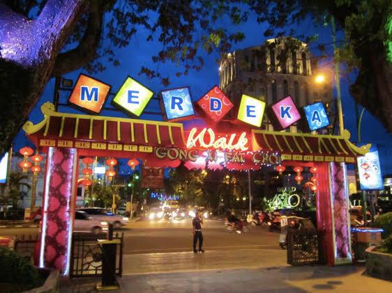Merdeka Walk, Tongkrongan Outdoor yang Nyaman di Pusat Kota Medan